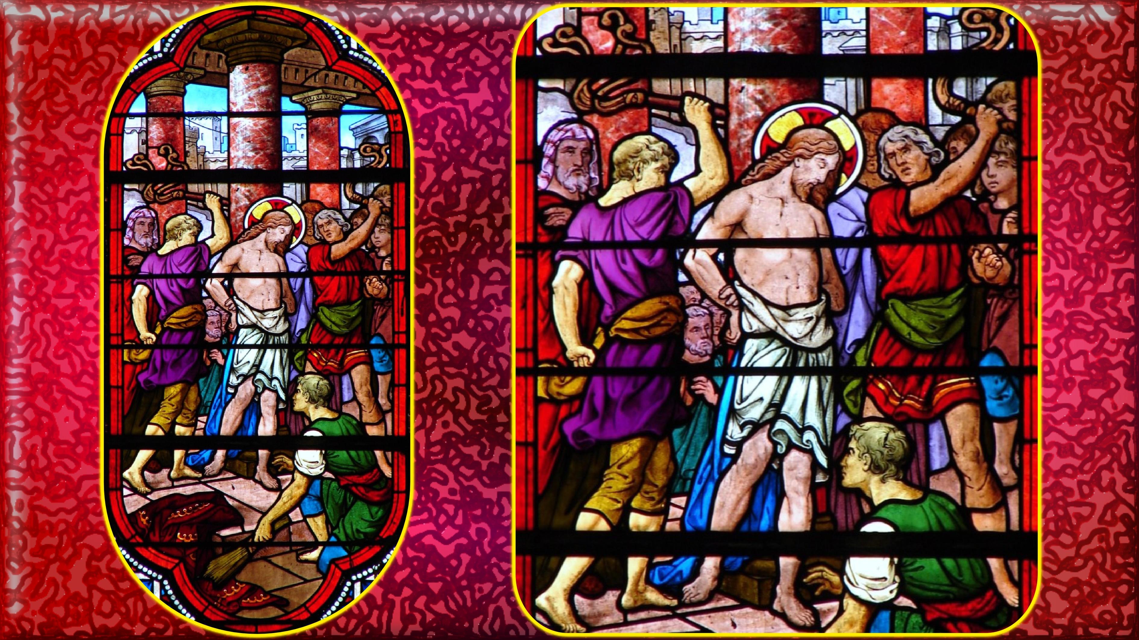 Le Rosaire en Images - Page 2 J-sus-flagell--55f1396