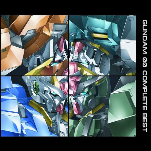 mobile suit gundam 00 complete best 2009cd flac