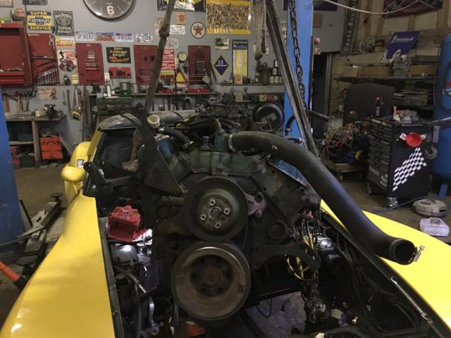 restauration corvette ou plutôt un petit lifting pour noel 7-51383ea