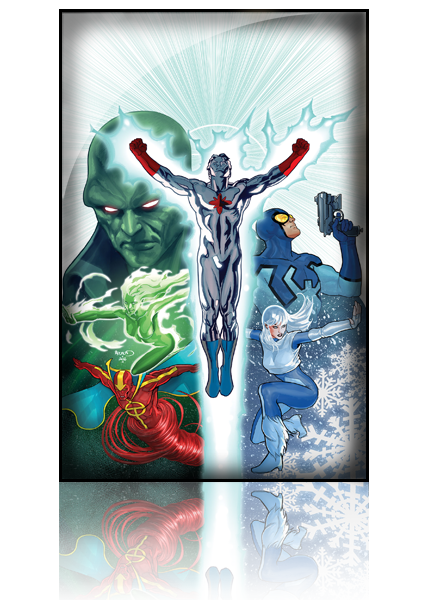 Convergence - Justice League International Tomes 01 02 French