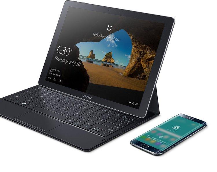 samsung galaxy tabpro s un mini pc portable dans une grande tablette. Black Bedroom Furniture Sets. Home Design Ideas