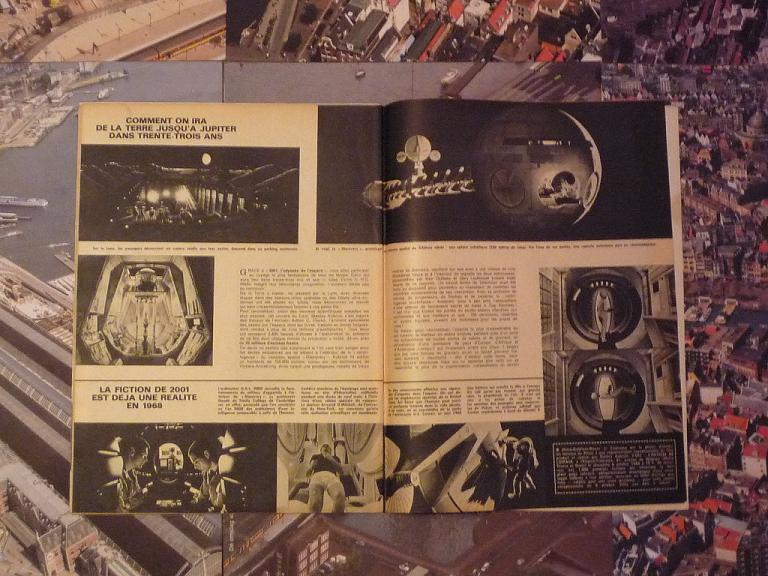 quelques livres sur 2001 odyssée de l'espace Ti52--p1230022-497433e