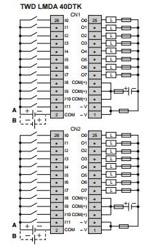c u00e2blage des sorties transistors twido