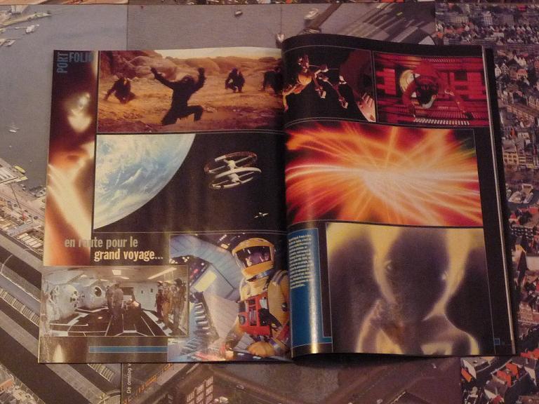 quelques livres sur 2001 odyssée de l'espace Ti23-p1230337-4974206
