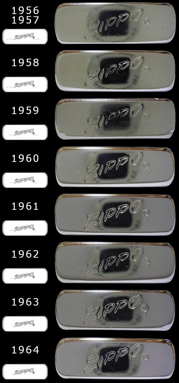 [Datation] Les Zippo Slim 1956-1964-525caa8