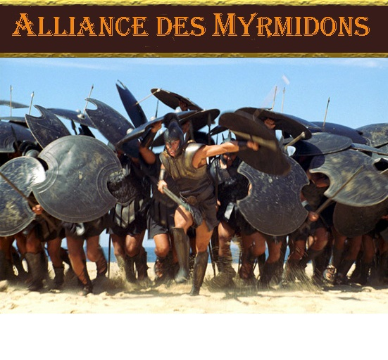 Les Myrmidons Index du Forum