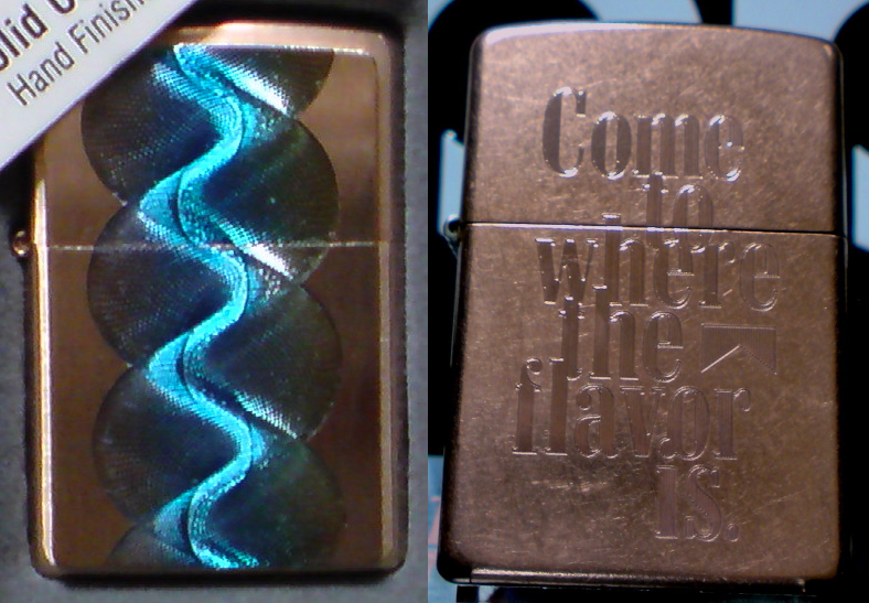 [Datation] Les Zippo Solid Copper Copper-1-52406e3