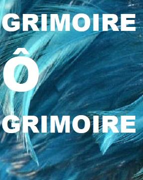 GRIMOIRE Ô GRIMOIRE Index du Forum