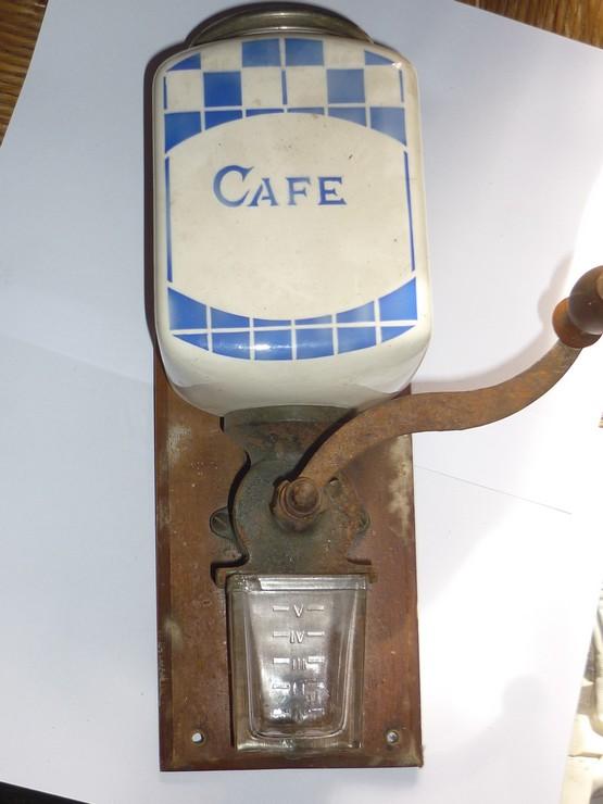 moulin caf mural ancien sarreguemines lustucru ebay. Black Bedroom Furniture Sets. Home Design Ideas