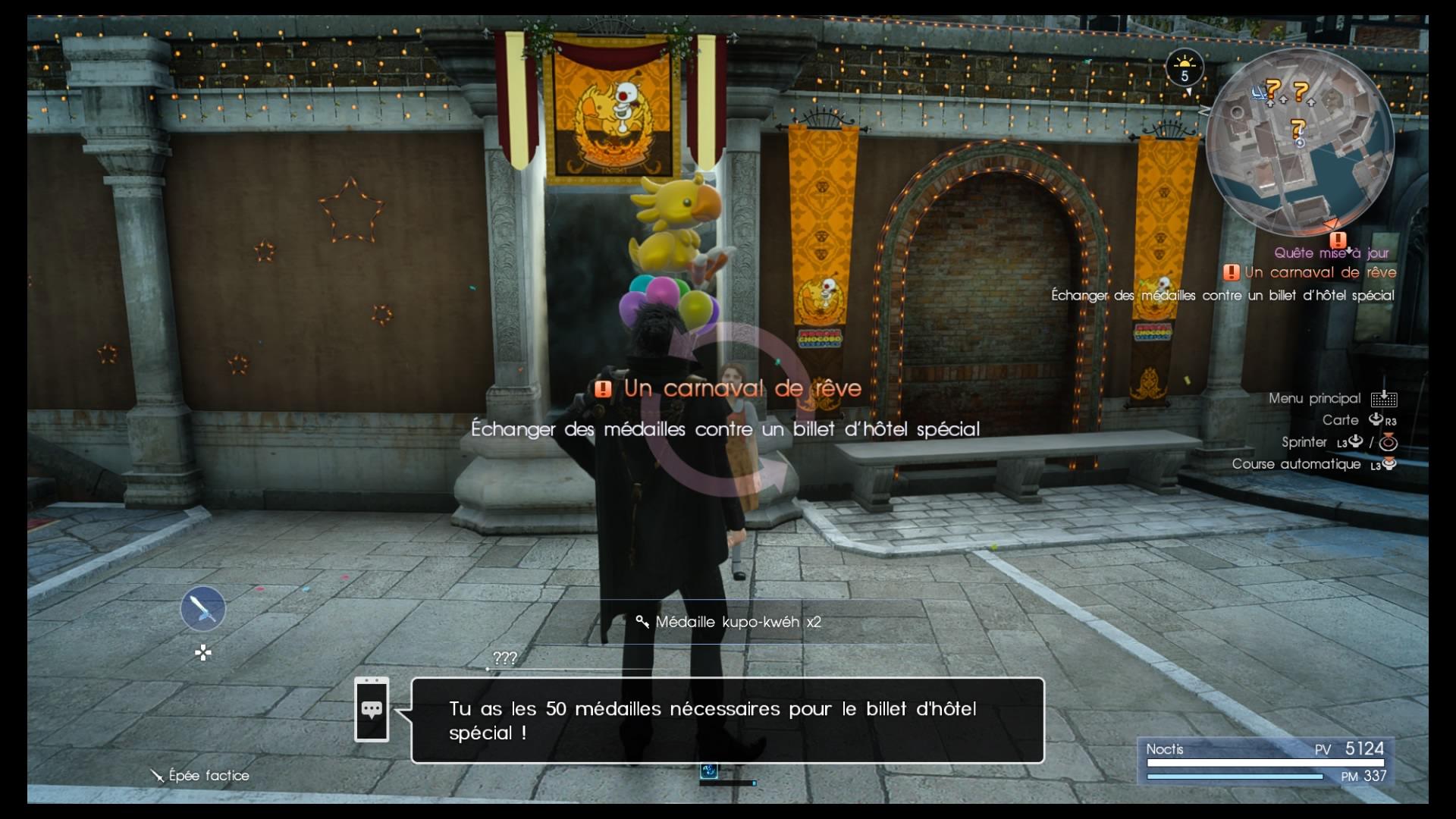 Final Fantasy XV DLC Carnaval