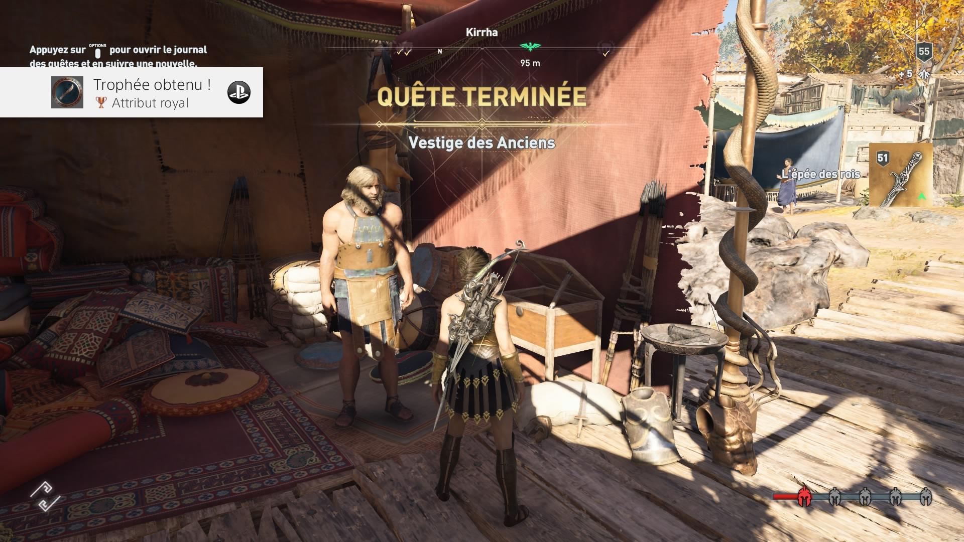 Assassin's Creed Odyssey Héritage de la première Lame