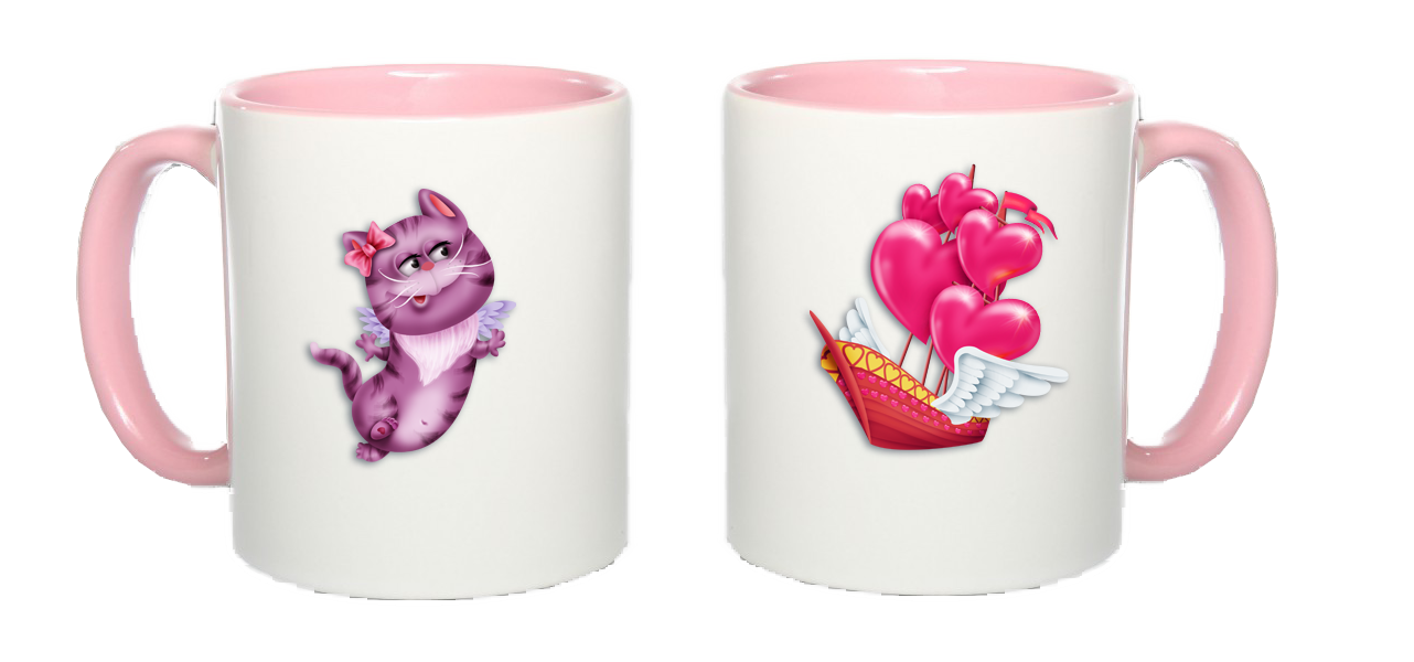 Mug Amoureux Duo_chat-valentin-rose-518d37a