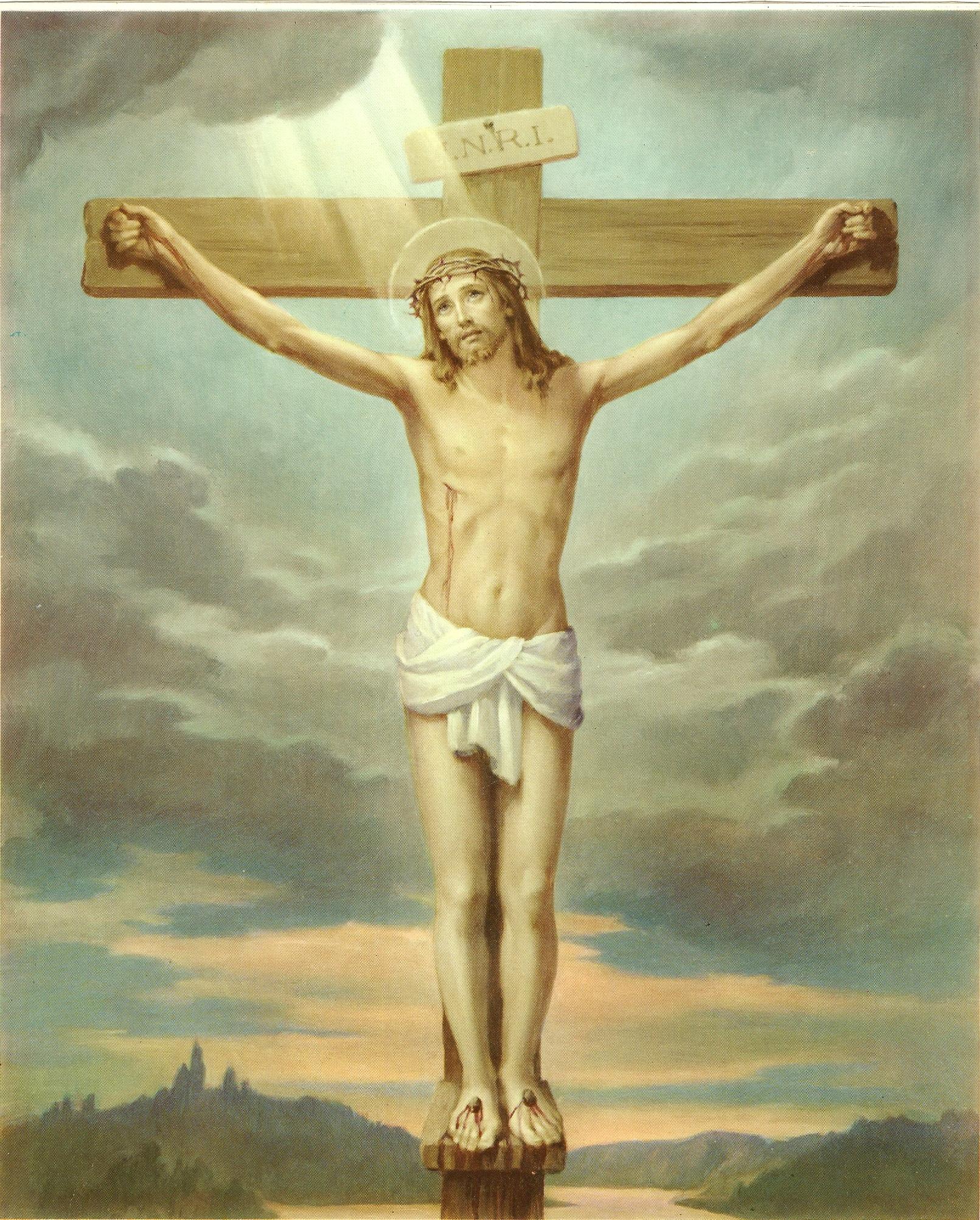 Le Rosaire en Images - Page 2 10--le-crucifiement-5599d76