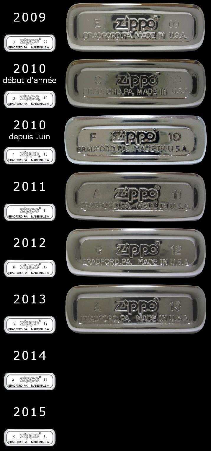 [Datation] Les Zippo Slim 2009-2015-525caba