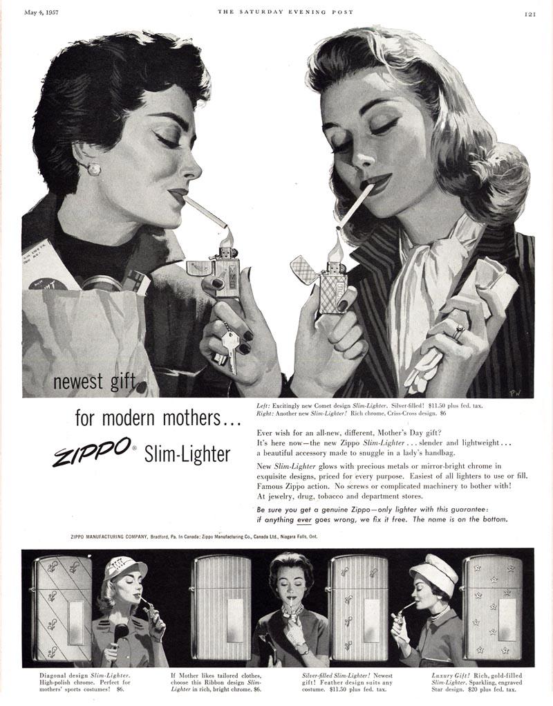 [Datation] Les Zippo Slim Pub-zippo-slim-1957-525ca83