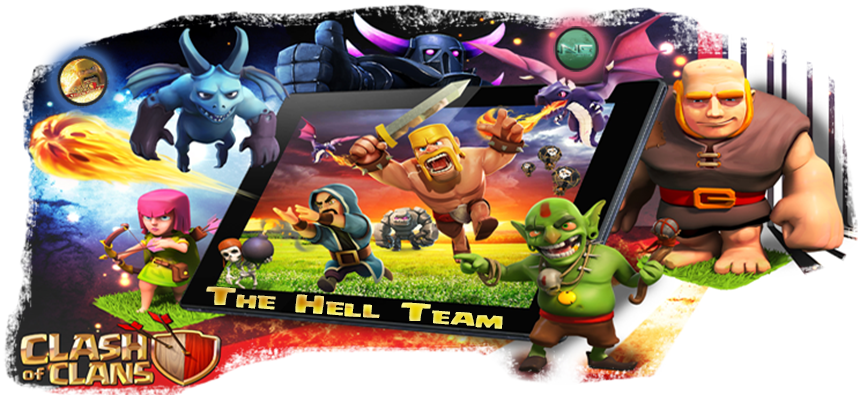 the hell team clash of clans forum clash of clan de la hell team. Black Bedroom Furniture Sets. Home Design Ideas