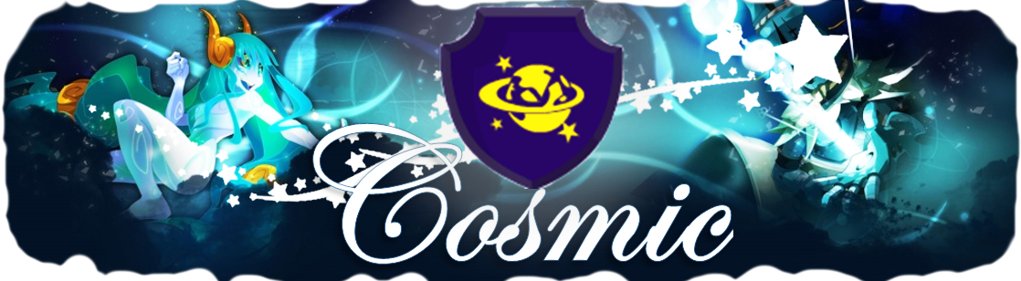 guilde cosmic Index du Forum