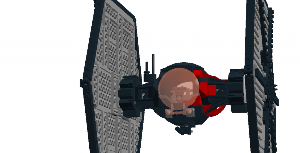 mod ldd order tie sf special forces tie fighter