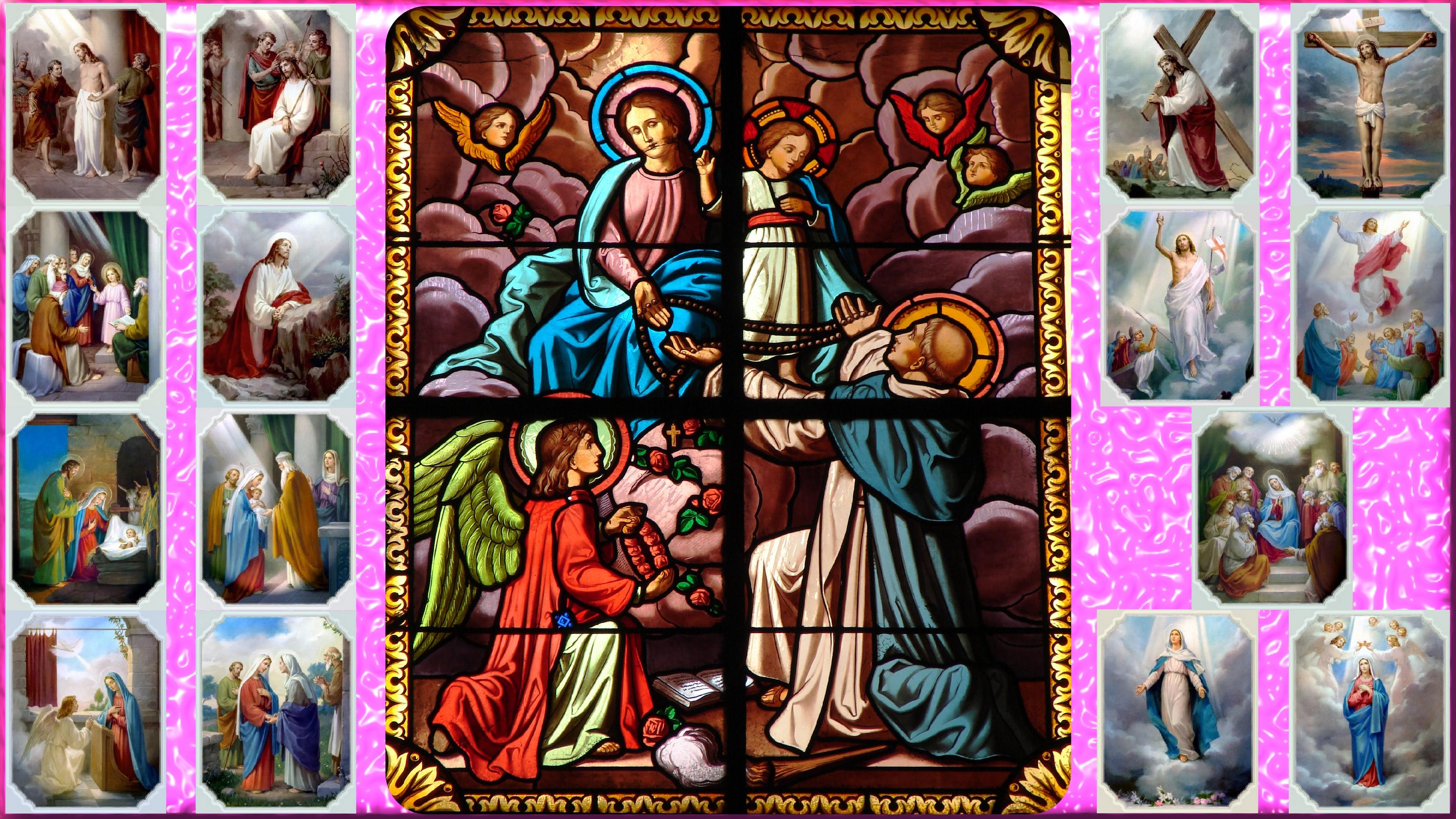 Le Rosaire en Images - Page 3 St-dominique-rece...de-marie-5604403