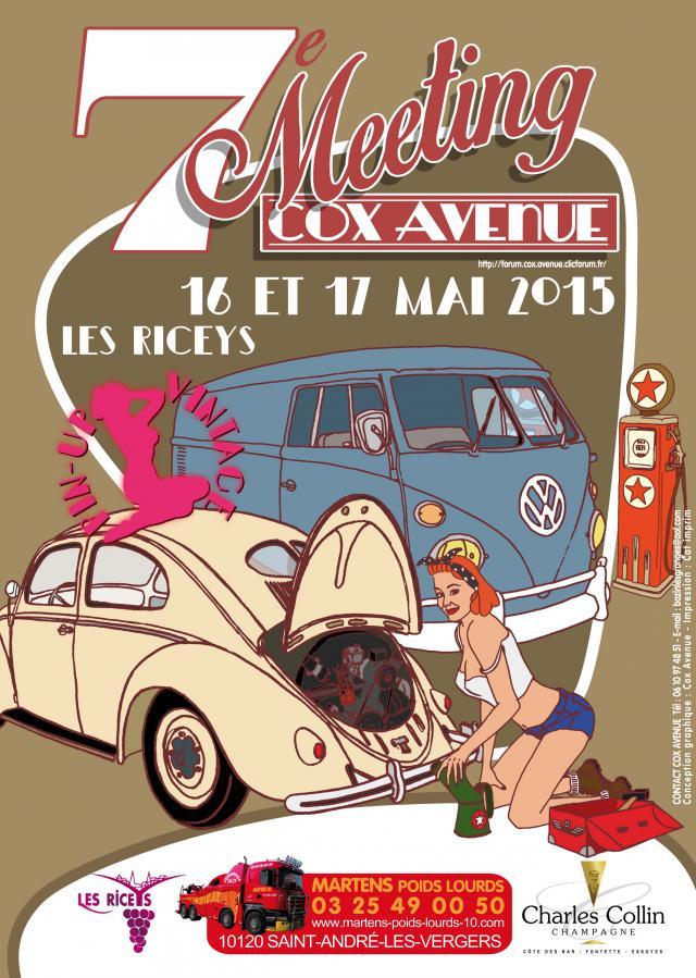 7ème Meeting du Cox Avenue 16/17 Mai 2015 aux Riceys (10) Affiche_2015_a3_ld-4a5bb8b