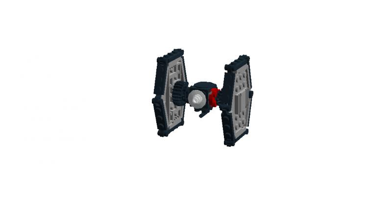 Mini FO Spec. Forces TIE Fighter - LEGO Star Wars - Eurobricks Forums