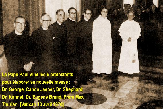 Messe moderne ou messe tridentine : quelle messe préférez-vous ? - Page 4 Paul-vi-protestant-557977b