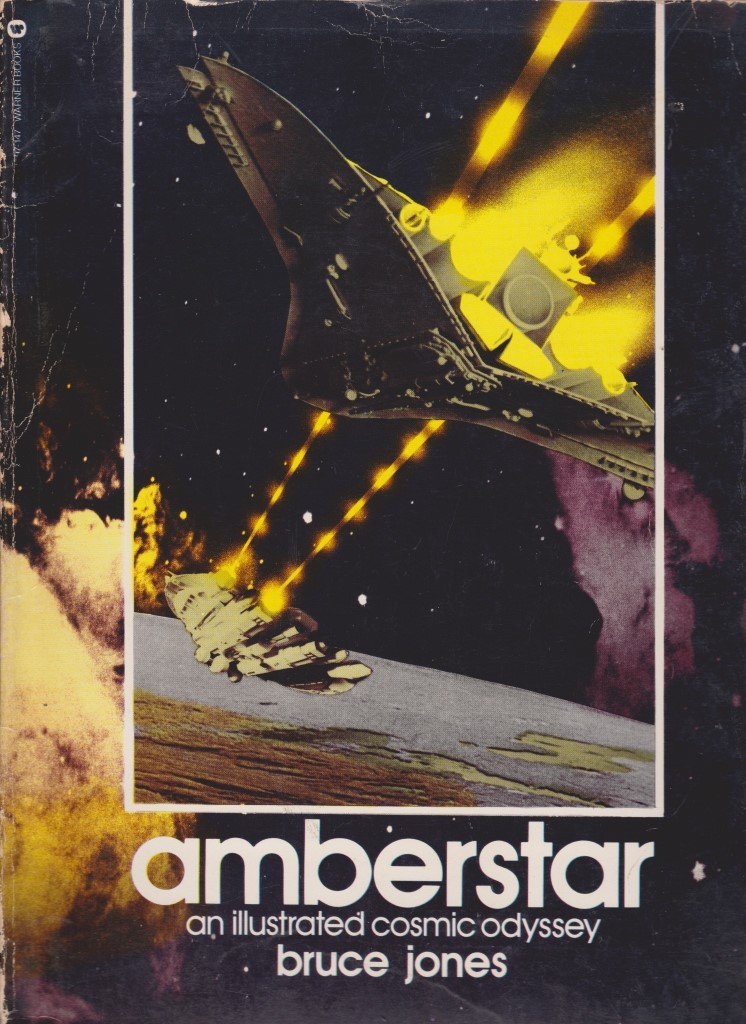 Amberstar, an illustrated cosmic odyssey 1980 Bruce Jones Amberstar-2-4ac6f00