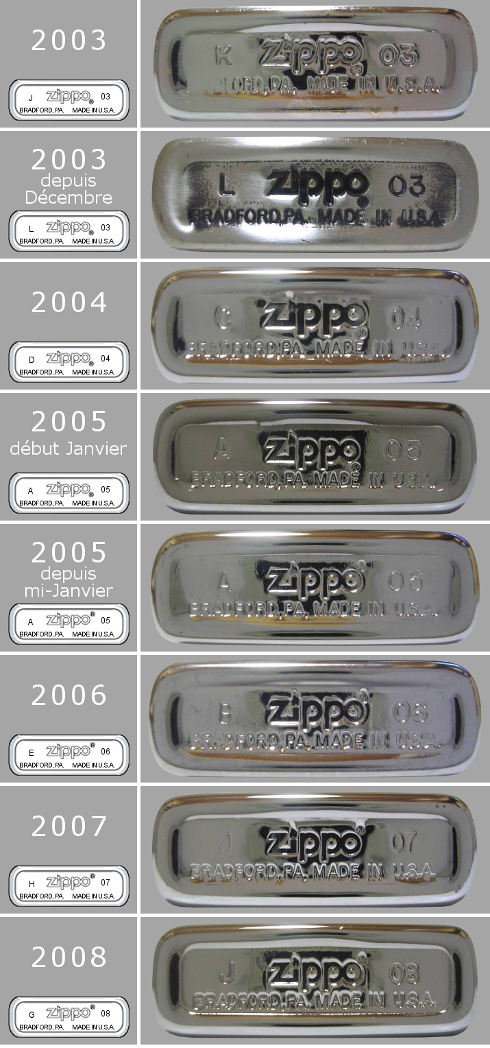 [Datation] Les Zippo Slim 2003-2008-525cab8