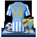 Camiseta Málaga CF para avatar 2-46f834a