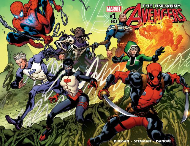The Uncanny Avengers Tome 01 French
