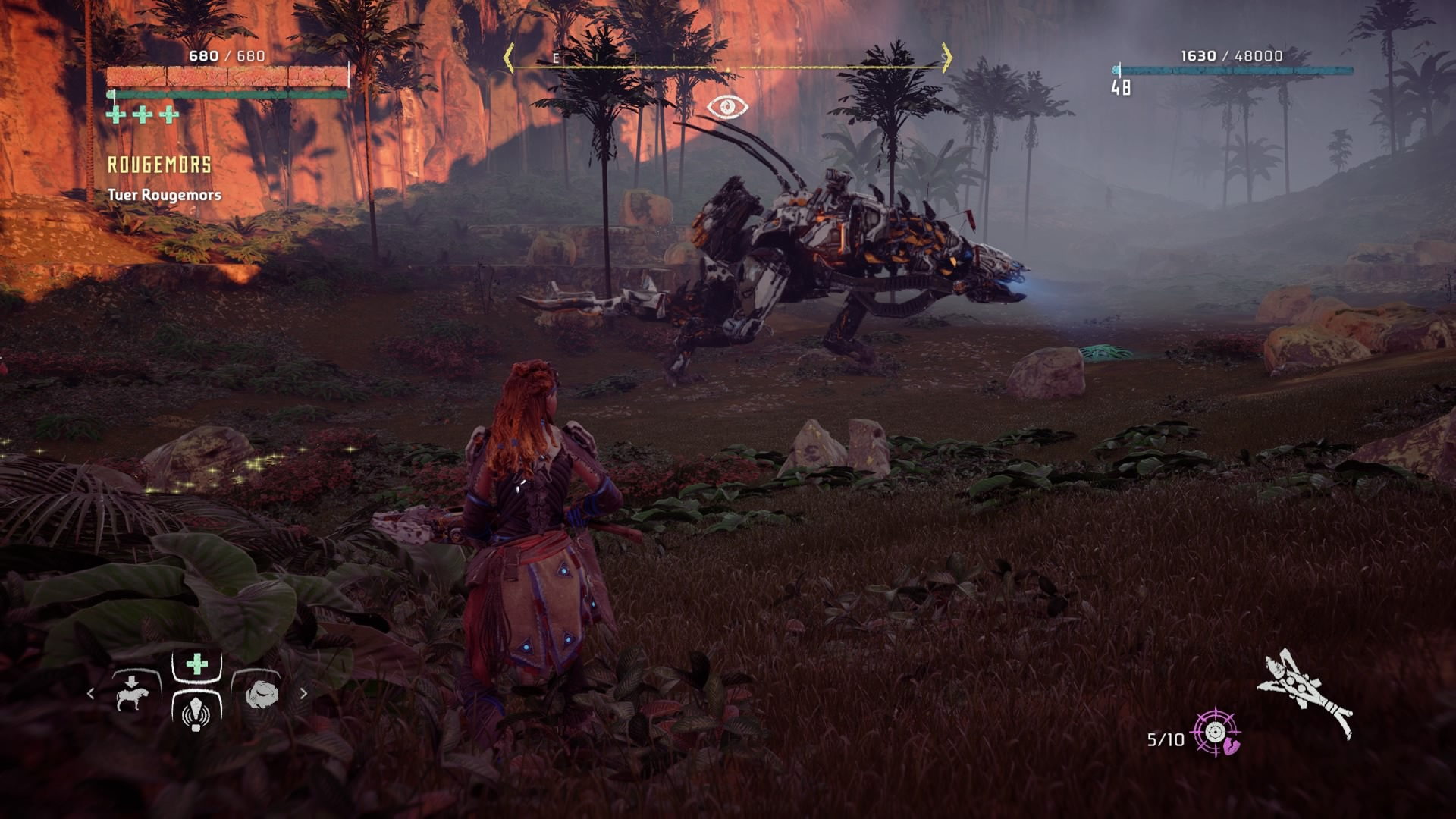 Horizon Zero Dawn Rougemors
