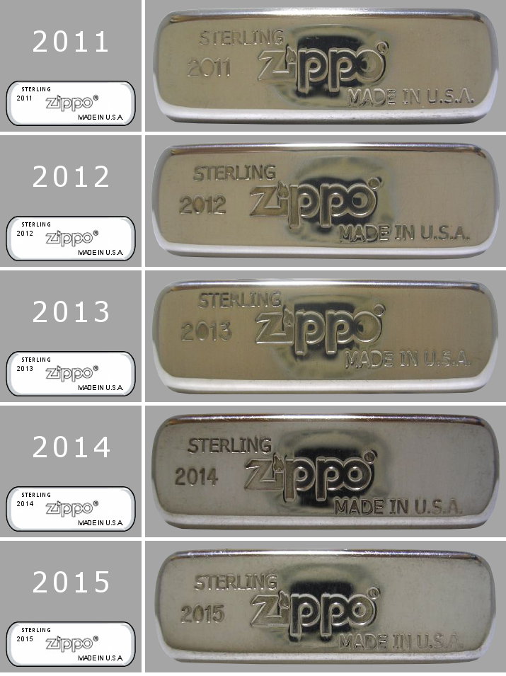 silver - [Datation] Les Zippo Sterling Silver Bottom-2011-2015-523c184