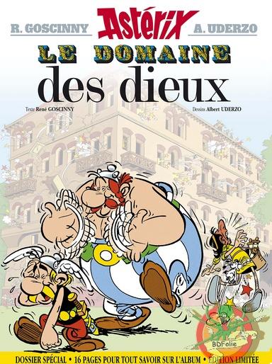 Album le domaine des dieux version spéciale et version luxe. Domaine-46d7393