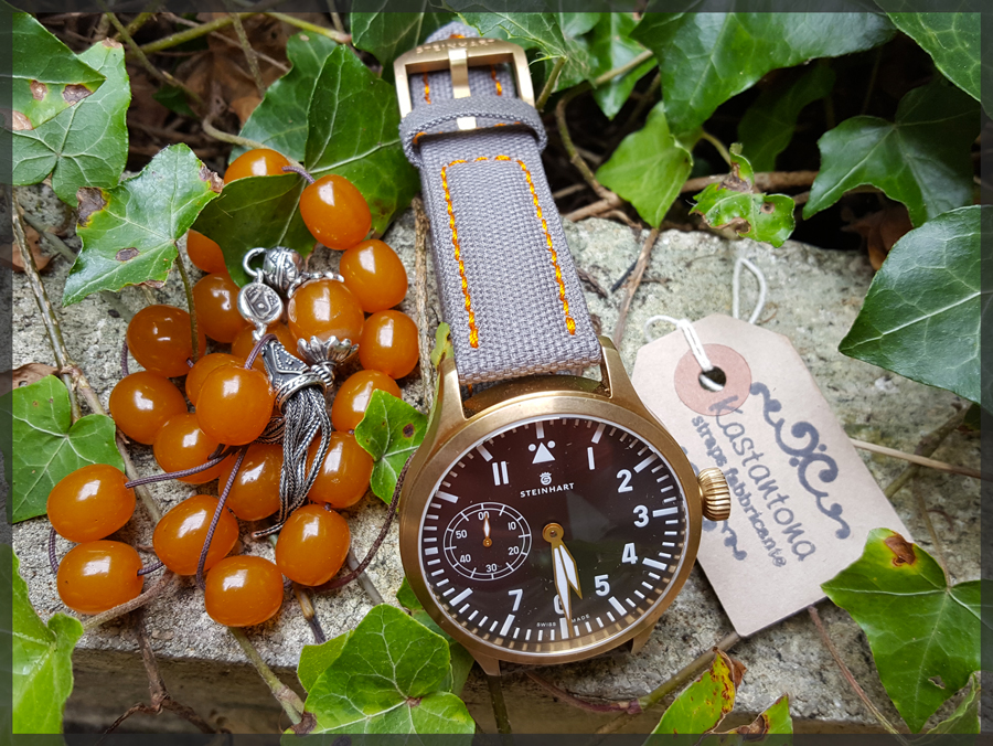Nav B-Uhr 47 Handaufzug, Bronze Costas1-5003f3f