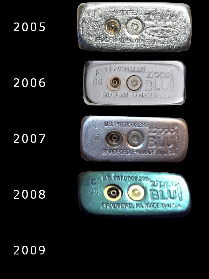 [Datation] Les Zippo BLU (briquets à gaz butane)  2005-2009-5267c58