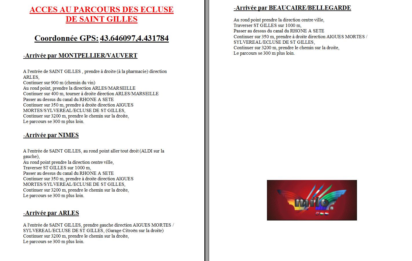 2em Master du Gard le 18 et 19 avril 2015 st giles (30) Acces-parcours-ec...ur-forum-4a79747