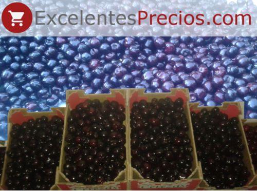 Cajas de 2kg de Cereza Black Star