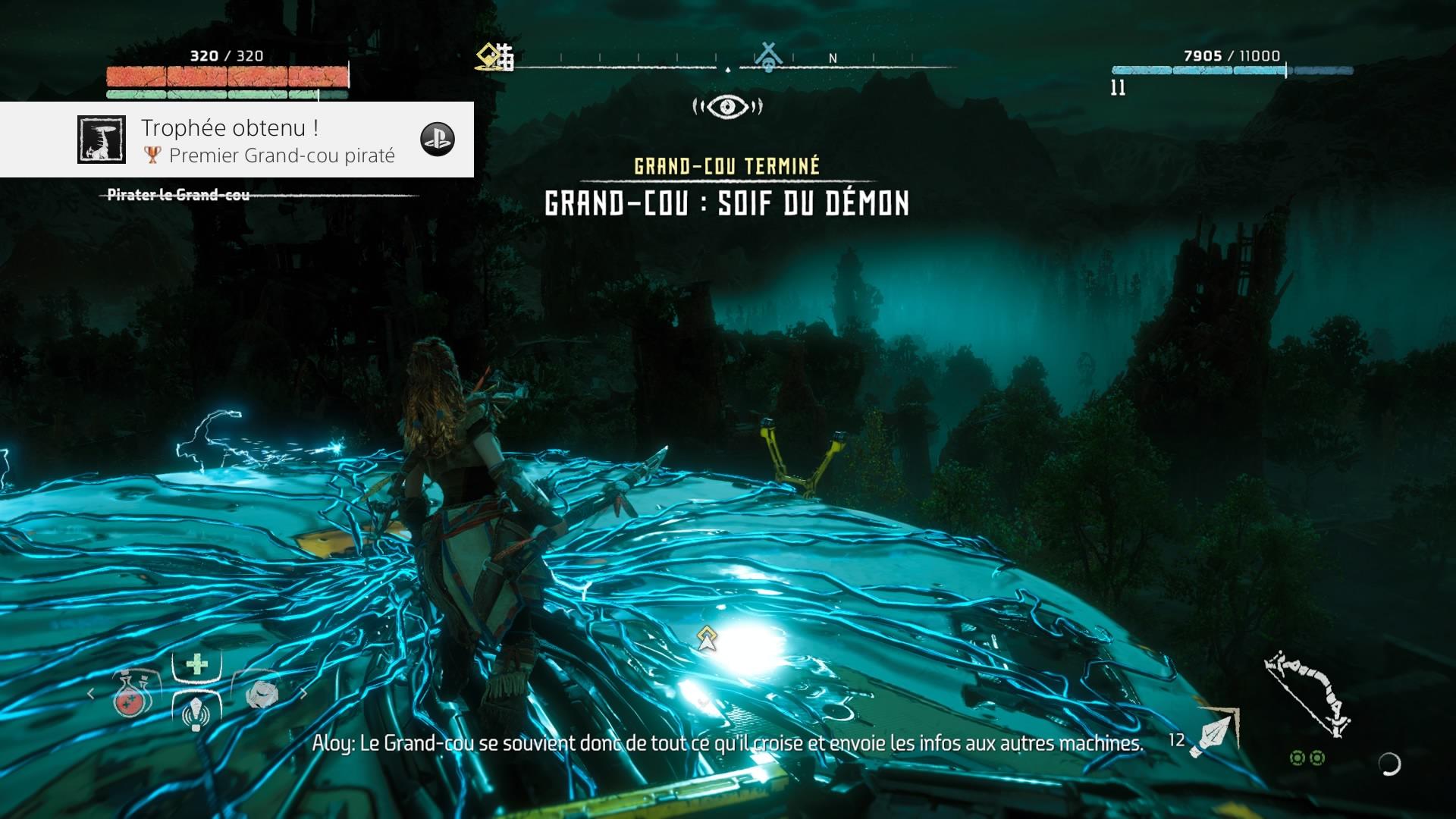 Horizon Zero Dawn premier grand-cou piraté