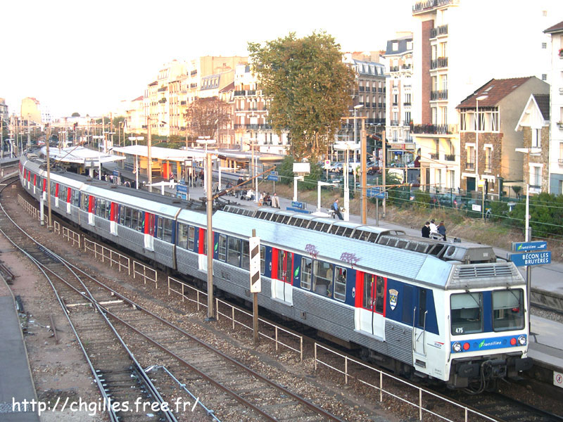 La gare de Bécon les Bruyères B-con4-524692c