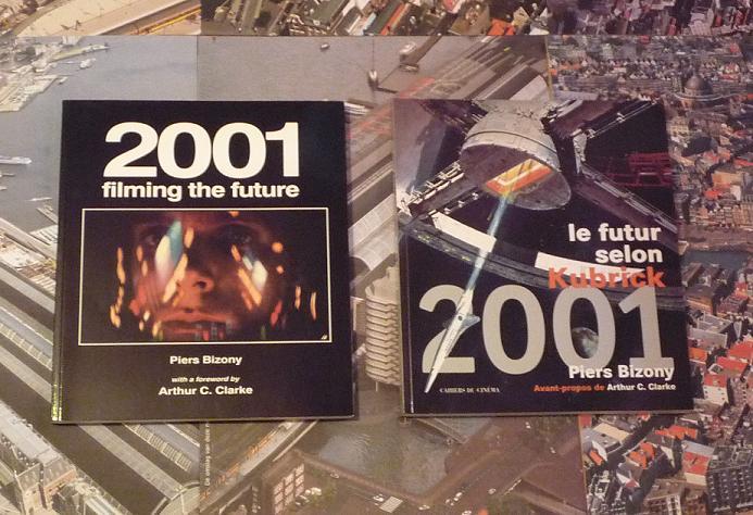 quelques livres sur 2001 odyssée de l'espace Ti08-p1220916-49740fa