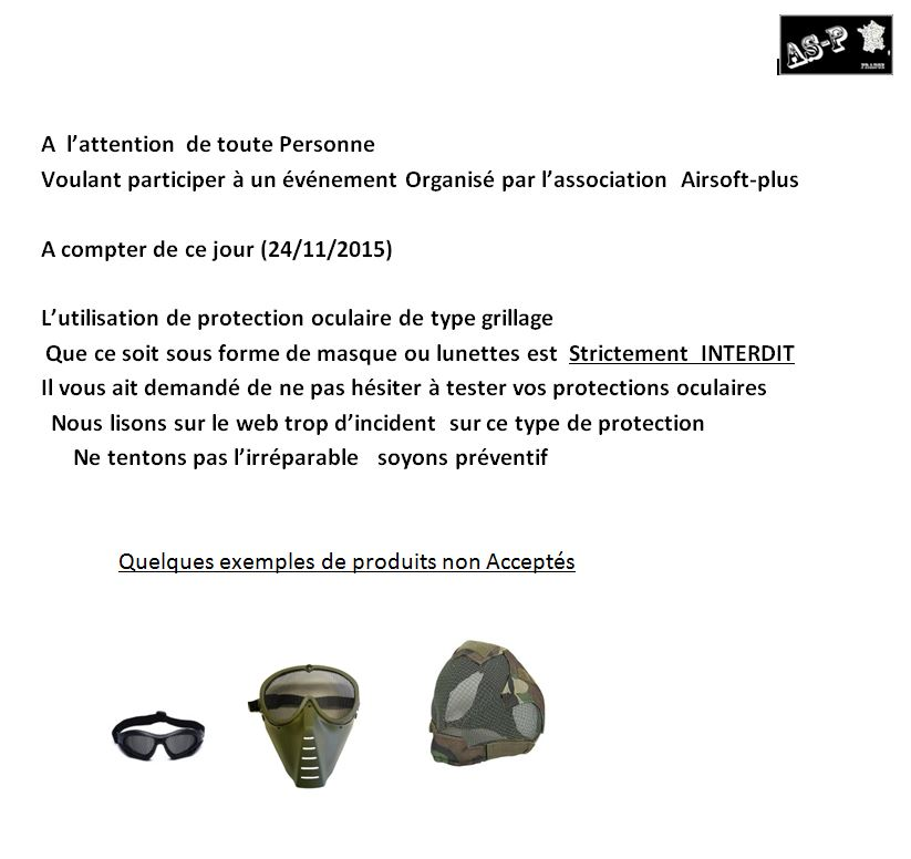 Protection Oculaire Type Grillage  INTERDIT sur nos terrains Protec-type-grill...interdit-4d8d066