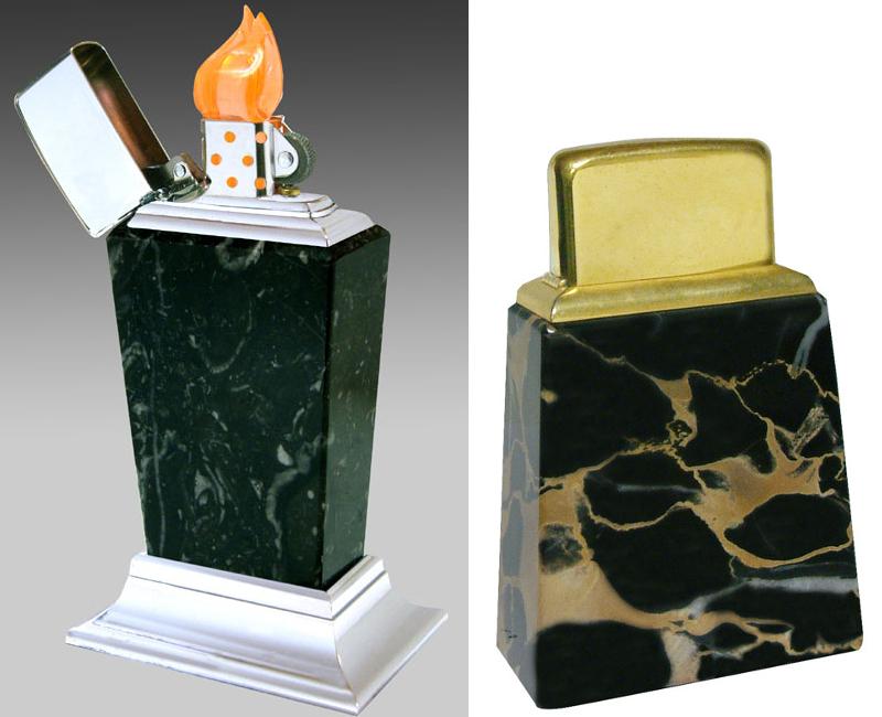 [Datation] Les Zippo Table Lighter Roseart-marbre-5269391