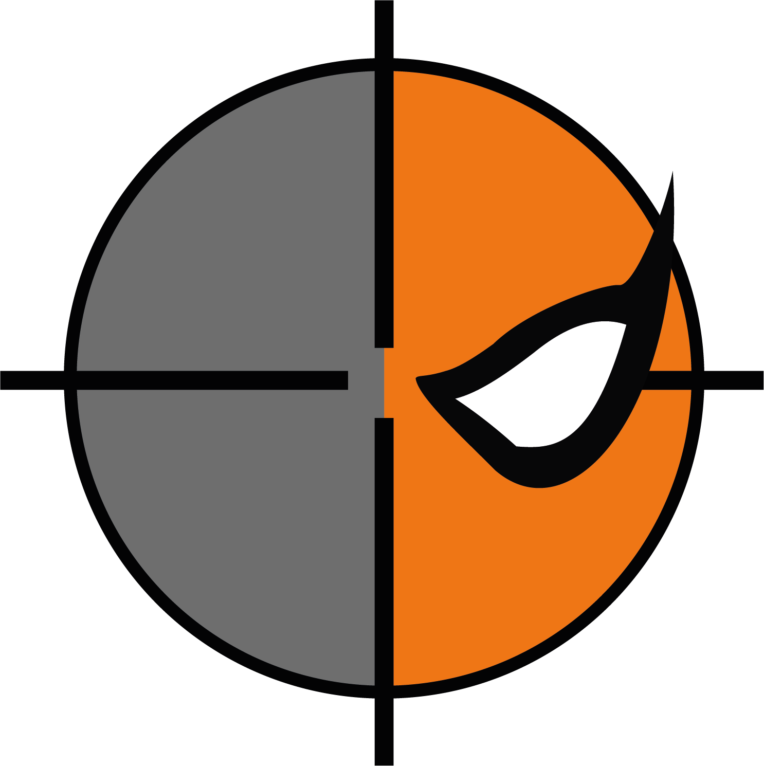 « Derrière le contrat » ft. Atom / Batgirl / Red Hood Logo-55de7af