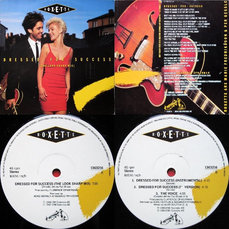 "Roxette Dressed For Success Single 12"" Sweden 1987 Flac - Página 2 Mmmm-47d6919"