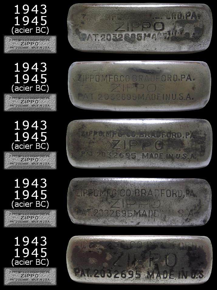 [Datation] Les Zippo Regular Regular-1943-1945-5266dc1