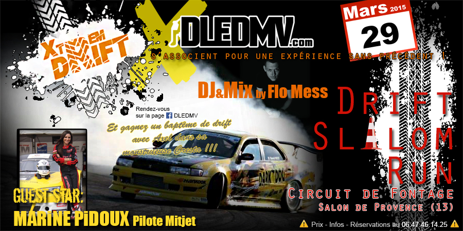 drift slalom run xtrem drift dledmv circuit de. Black Bedroom Furniture Sets. Home Design Ideas