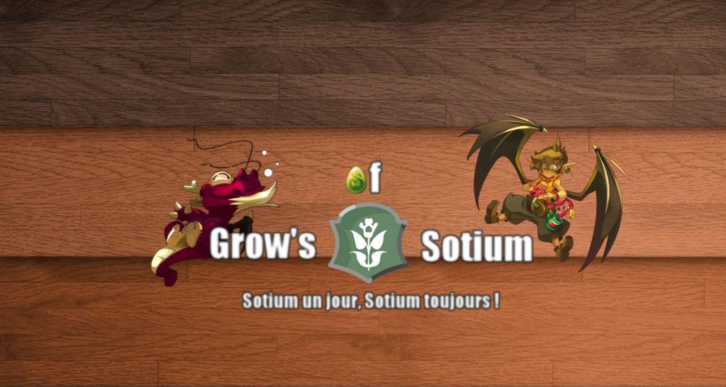 """Forum de la guilde """"Grow's Of Sotium"""" Index du Forum"""