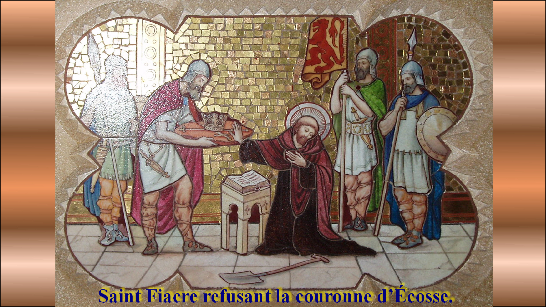 CALENDRIER CATHOLIQUE 2019 (Cantiques, Prières & Images) - Page 7 St-fiacre-568384b