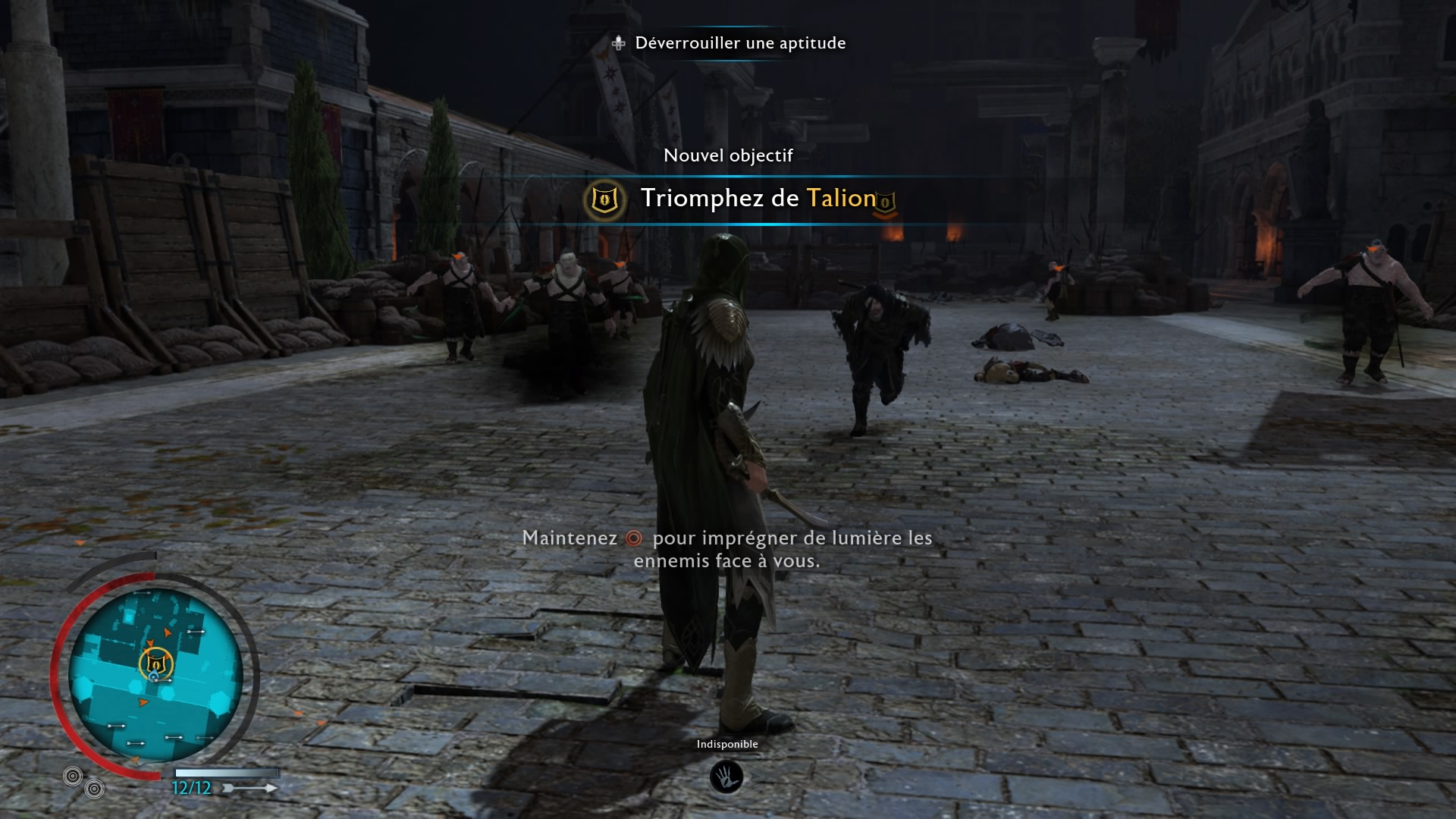 L'ombre de la guerre La lame de Galadriel