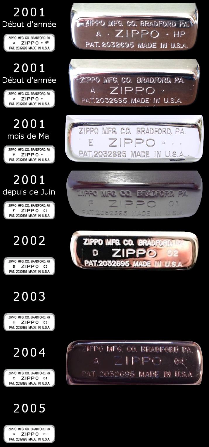 [Datation] Les Zippo 1941 Replica 2001-2005-525b8bc